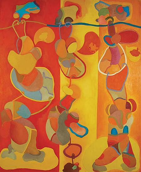 Luis Lopez-Loza Mexican, b. 1939 Circus, 1967