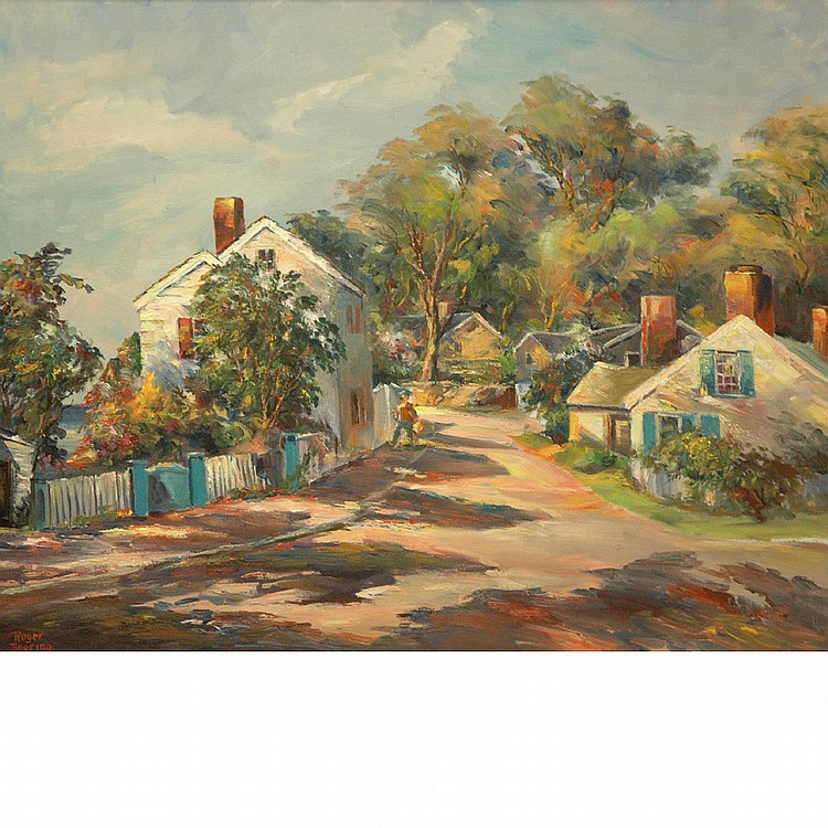 Roger Deering American, 1904-1980 (i) May Time: Cape Ann
