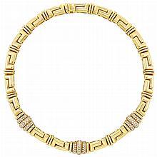 Gold and Diamond Necklace, Bulgari