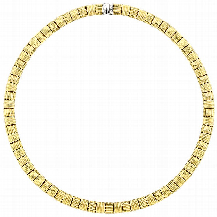 Gold and Diamond Necklace, Roberto Coin