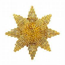 Gold Pendant Clip-Brooch, David Webb
