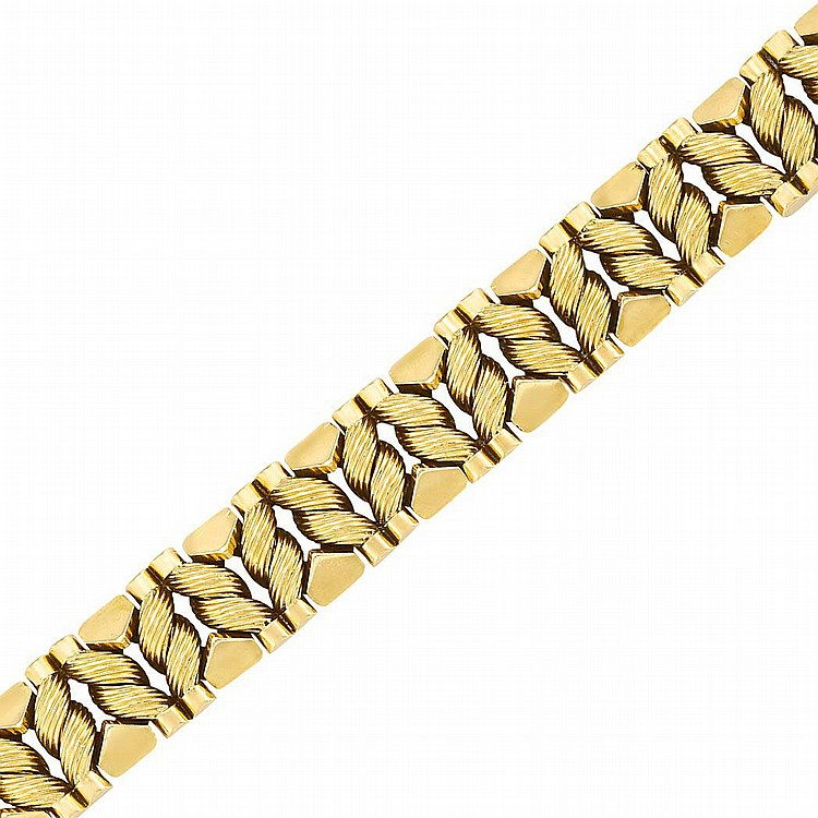 Gold Bracelet, Georges L''Enfant