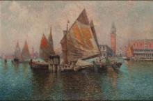 Nicholas Briganti Italian, 1861-1944 Venetian Lagoon