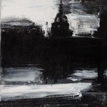 John Virtue British, b. 1947 Landscape 806, 2005