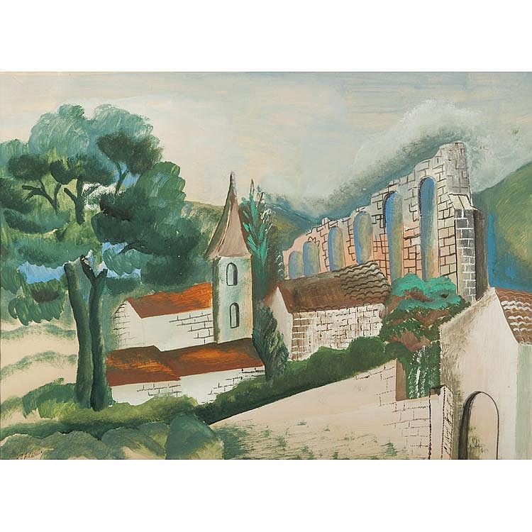 Ossip Zadkine Russian/French, 1890-1967 Untitled, 1928