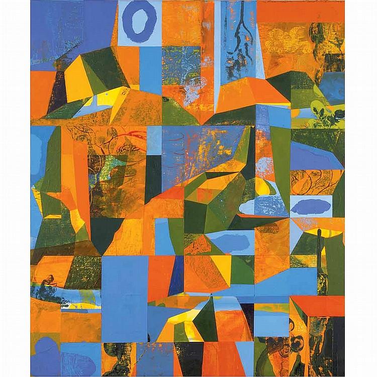 Peter Hristoff American, b. 1958 The Sacrifice of Joachim, 1992
