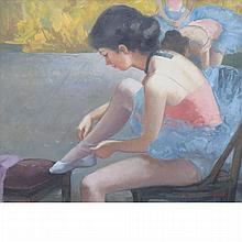 Madeleine Avril French, b. 1954 Ballerina