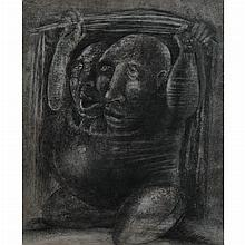 Group of Five Works on Paper by Various Artists