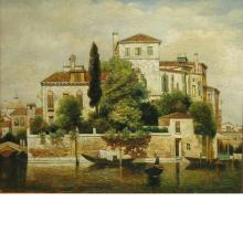 Trevor James 20th Century Venice Palazzo