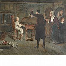 George Goodwin Kilburne I British, 1839-1924 The Young Composer