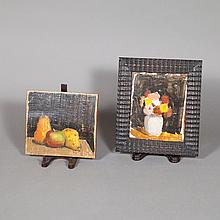 Robert Moore Kulicke American, 1924-2007 Flowers in a White Crock