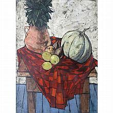 Charles Levier French, 1920-2003 La Nappe