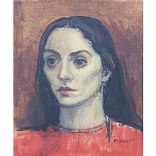 Moses Soyer American, 1899-1974 The Greek Girl, circa 1952