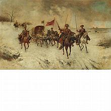 Constantin Stoiloff Austrian, 1850-1924 The Governor's Journey