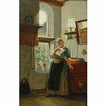 Otto Kirberg German, 1850-1926 The Letter