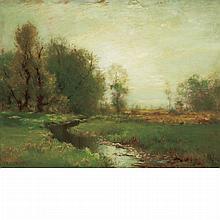 Arthur Parton American, 1842-1914 The Stream