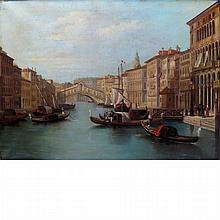 Italian School 19th Century Venice, The Rialto