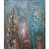 Eleanor Cohen American, 1916-2010 (i) Fog in the City, Eleanor Coen, Click for value