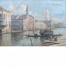 Nicolas Briganti American, 1861-1944 The Grand Canal, Venice
