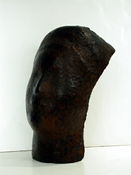 Saul Baizerman American, 1899-1957 HEAD Hammered copper Height 14 1/2 inches