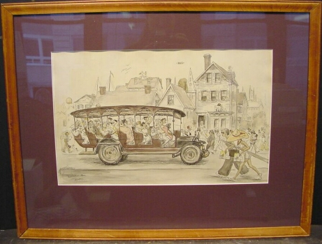Aaron Sopher American, 1905-1972 PROVINCETOWN Signed and inscribed Provincetown, Mass./A. Sopher