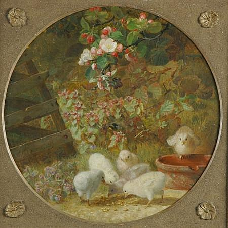 Eloise Harriet Stannard British, circa 1829-1915 Series of the Four Seasons, 1883: Four