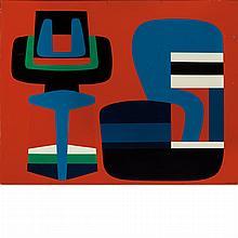 Jean Dewasne French, 1921-1999 Magic Machine, 1953