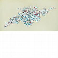 Robert Arthur Goodnough American, 1917-2010 Color, White, Color, 1981