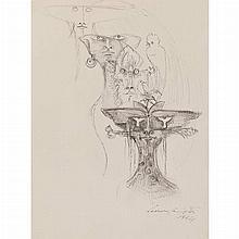 Leonora Carrington British, 1917-2011 Gods and Animals, 1964