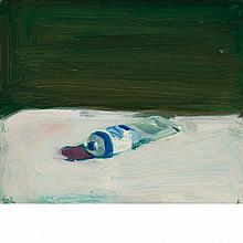 Paul John Wonner American, 1920-2008 A Tube of Blue