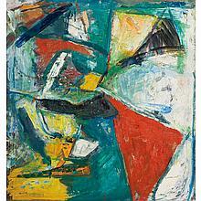 Paul Burlin American, 1886-1969 Untitled, 1960
