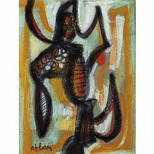 Jean-Michel Atlan French, 1913-1960 Untitled, 1956