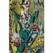Gen Paul French, 1895-1975 Untitled (Clown with Drum)