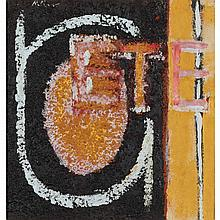 Robert Motherwell American, 1915-1991 Summer Collage, 1941   Signed Motherwell, dated 41 and inscribed...