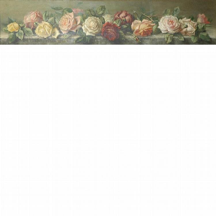 Emily Harris McGary Selinger American, 1848-1927 Roses
