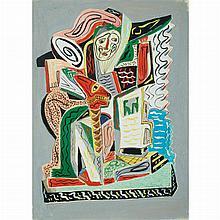 Jose de Creeft American, 1884-1982 Abstract Figures, 1941