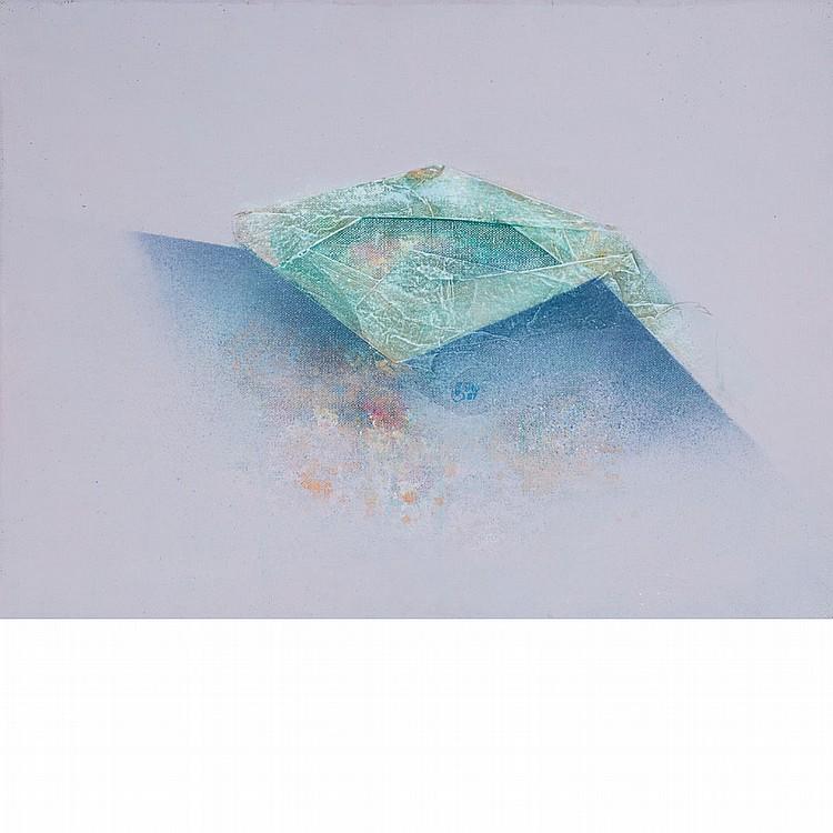 James Chan Leong American, 1929-2011 Over and Away, 1967