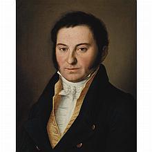 Attributed to John Vanderlyn Portrait of a Man, circa 1805