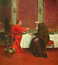 Rudolf Ernst Austrian, 1854-1932 The Oenophile