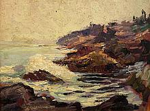 Abraham Jacob Bogdanove American/Russian, 1887-1946 Coastal Scene, 1912