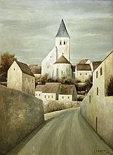 Jean-Pierre Capron French, 1921-1997 Village Road, 1965