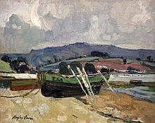 Richard Hayley Lever American, 1876-1958 River Boats, Exmouth, England