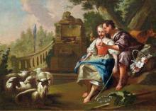 School of Jean-Baptiste Le Prince Lovers: Four