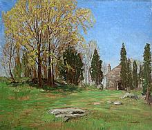 Samuel Harkness McCrea American, 1867-1941 Farmstead, 1913