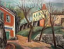 Antonin Pelc Czech, 1895-1967 Village Trading Post, 1926
