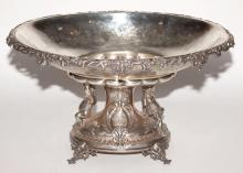 French Silver Centerpiece