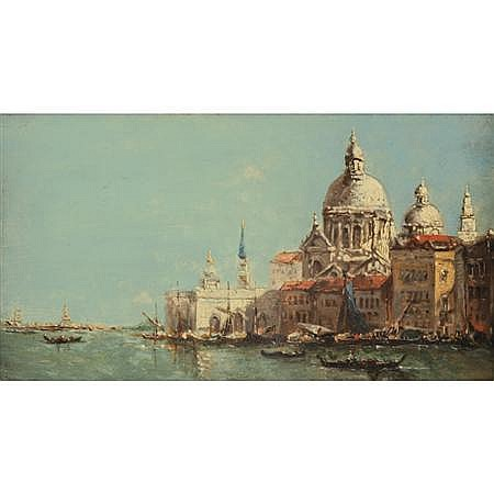 N. Briganti Italian, 20th Century View of Venice
