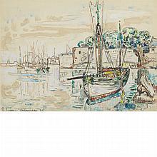 Paul Signac French, 1863-1935 Concarneau, 1925