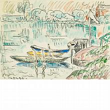 Paul Signac French, 1863-1935 Paimpol, circa 1925