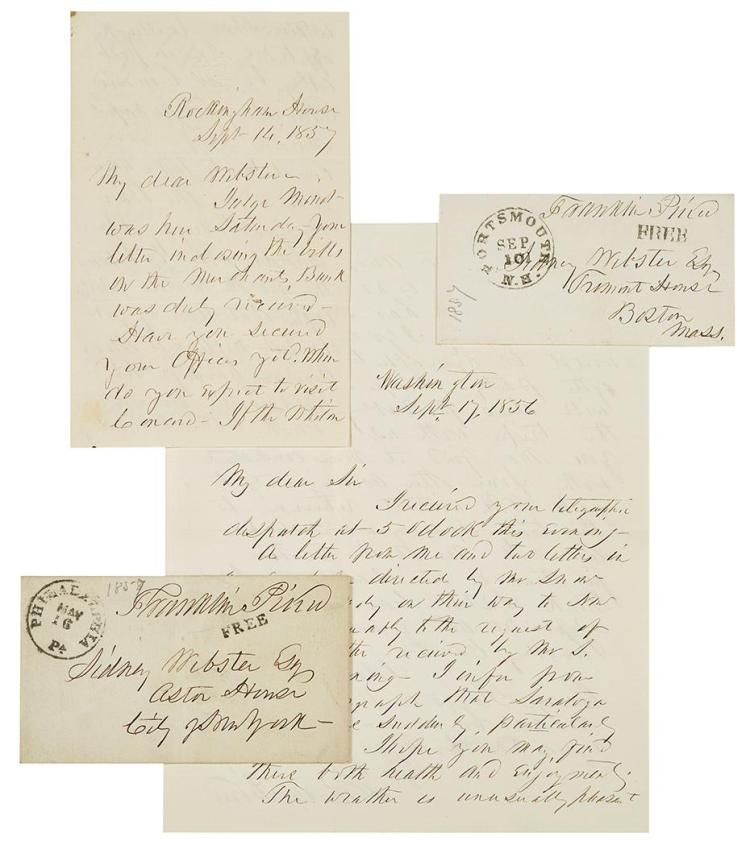 letter to president pierce Some of our most influential roots are the original cultures of this land the following letter, sent by chief seattle of the dwamish tribe in washington.